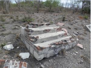 Steps Ruins, Parnassus Plantation, Clarendon