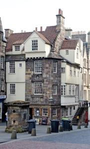 John Knox House modern