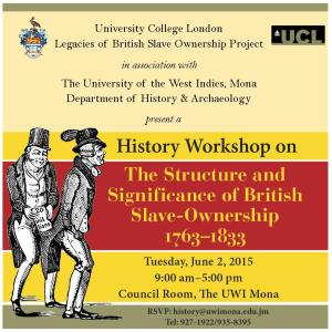 History Workshop Jamaica