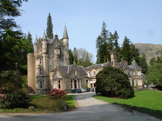 Benmore House, Argyll