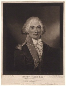 Henry Redhead Yorke by James Ward, published by and after William Hay mezzotint, published 21 July 1796 NPG D4949 © National Portrait Gallery, London