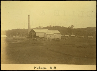 2-Habana Sugar Mill outside Mackay ca. 1884