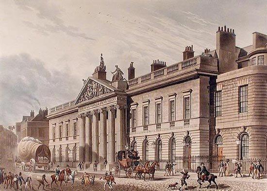East-India-House-London-Leadenhall-Street-Thomas-1817